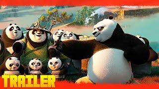 Kung Fu Panda 3 (2016) Tráiler Oficial #2 Español Latino