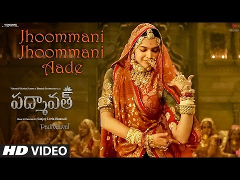 Xxx Mp4 Jhoommani Jhoommani Aade Video Song Padmaavat Telugu Deepika Padukone Shahid Kapoor Ranveer Singh 3gp Sex