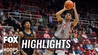USC vs Stanford | Highlights | FOX COLLEGE HOOPS