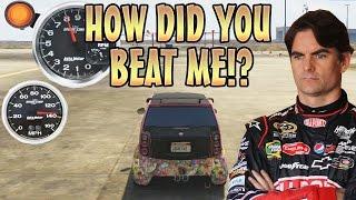RACE CAR TROLLING WITH NITRO! (GTA 5 Mods)