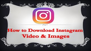 [Hindi] How to Download Instagram Video & Image | No Root
