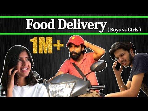 Xxx Mp4 Food Delivery Boys Vs Girls Ft Sejal Kumar Sadak Chhap 3gp Sex
