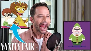 Nick Kroll Improvises 7 New Cartoon Voices | Vanity Fair