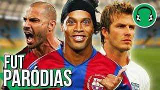 ♫ AUTOMATICAMENTE (só Golaços de Curva)   Paródia de Futebol - MC Leléto e MC Maromba