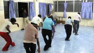 Rakesh in dance class