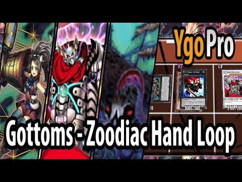 XX-Saber Gottoms Zoodiac Hand Loop ft. Theseus (YgoPro) - Rippin' 3 cards from their hand BRUH =3