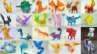 Top Paper Pokemon - Origami Pokemon Of All Time (Henry Phạm)