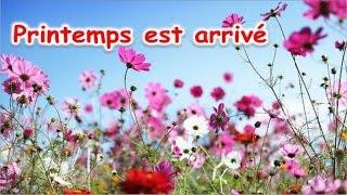 Anny Versini, Jean-Marc Versini - Printemps est arrivé (Clip officiel) - Apprendre les saisons