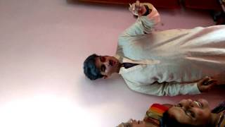 Mithila After Marriage Tradition:Drunk Father comes to visit newly married son (Very Funny)