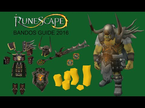 Runescape Ultimate Bandos Guide [COMMENTARY] 2016