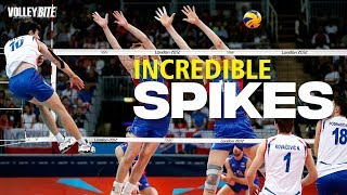 Incredible Angle Spikes ● Most Powerfull Diagonal Attack | Volleyball Moments