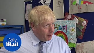Boris Johnson admits no-deal Brexit will cause 'bumps in the road'