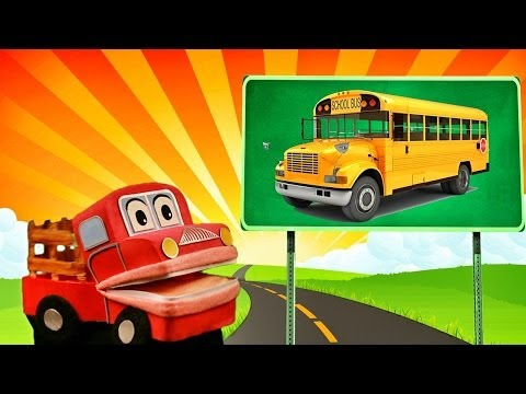Barney el camion Aprendemos los sonidos de los transportes Video Educativo para niños