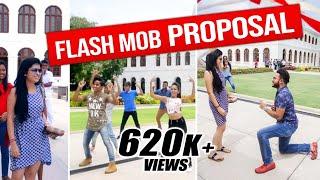 ලංකාවේ SURPRISE FLASH MOB PROPOSAL 1ක්    RaMoD with COOL STEPS !!!