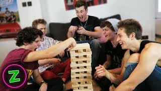 SHOCKING JENGA WITH THE VAMPS