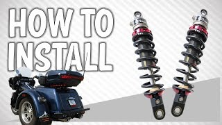 How to Install Shocks on a Harley-Davidson Tri-Glide or Freewheeler
