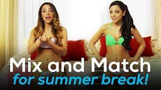 Help Niki And Gabi Pick Outfits For Summer Break! Mix And Match Ep. 2
