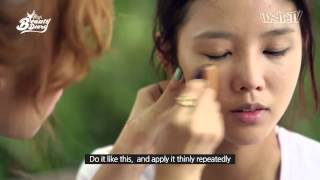 Pony's Beauty Diary   'Back to school special' dark pearl makeup 흑진주메이크업