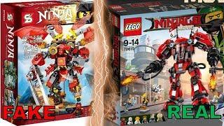 ALL LEGO Ninjago FAKE Sets VS REAL Sets! (2011-2017)