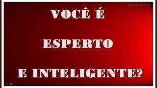Teste sua inteligência