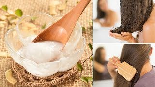 6 Clever Ways To Use Coconut Oil For Gorgeous Hair