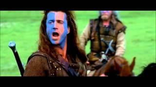 Braveheart (1995) - Best scene - William Wallace's speech (HD)