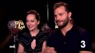 RED TV Germany - 12 Questions to Jamie Dornan and Dakota Johnson