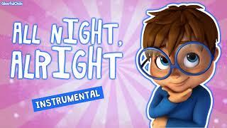 All Night, Alright - Instrumental