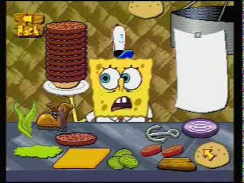 SpongeBob SquarePants Dilly Dabbler TV Game