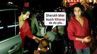 Beggar Asks For Food From Shahrukh Khan