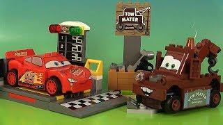 Disney Cars 3 Jeu de Construction Casse de Martin Lanceur de Flash McQueen