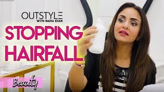 Beauty | How To Stop Hair fall | Nadia Khan Shares Treatment Tips For Hair Fall |  OutStyle