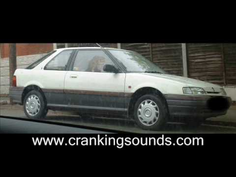 Woman trying to start her damp Rover 200 - Cranking / Pedal Pumping