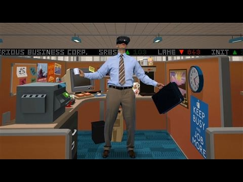 'Job Simulator': VR Gaming's Surprise Hit