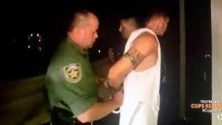 Josh Larson gets arrested
