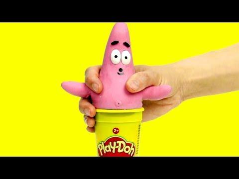 Xxx Mp4 Patrick Costume Dress Up Fun Cartoon 💕Superhero Play Doh Stop Motion For Kids 3gp Sex
