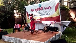 বিএন সিসি অনুষ্ঠানে।অসাধারণ বাংলা গানের সাথে নাচ।।এক্স ক্যাডেট এর প্রতিবা