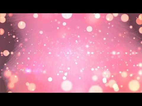 [無料で使えるオシャレ映像素材]キラキラ・パーティクル・背景・ピンク[HD]
