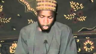 Lecture coranique (Malam Sanussi)