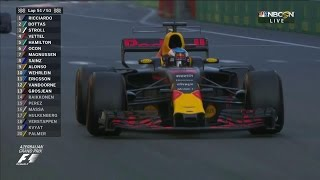 Ricciardo drives to victory at Azerbaijan Grand Prix, Bottas steals second