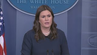 1/9/18: White House Press Briefing