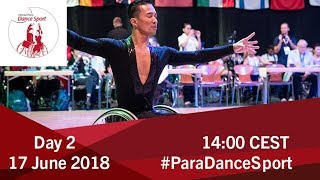 2018 World Para Dance Sport Polish Open   Lomianki   Day 2