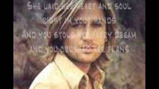 Keith Urban-Stupid Boy {with lyrics}