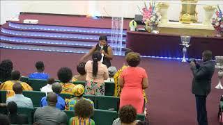 ANITA AFRIYIE VISITS DIVINE WORD
