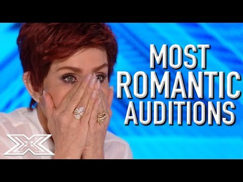 MOST ROMANTIC Auditions on The X Factor! | X Factor Global