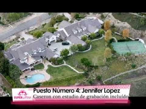 Top 5 SuperLatina Las Mansiones de los Famosos