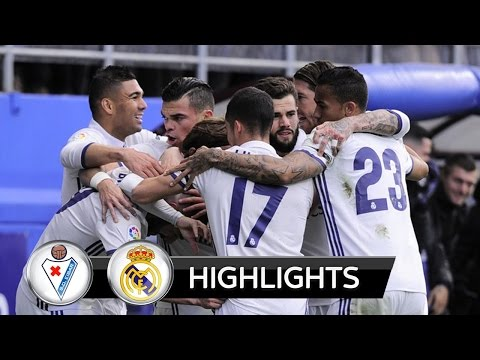 Eibar x Real Madrid - (1x4) - LA LIGA - GOLS - 04/03/2017