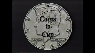 David Roth Coins To Cup Coins Across