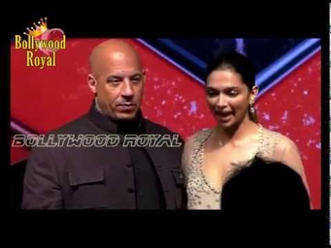When Vin Diesel KISSED Deepika Padukone At The 'xXx Retun Of Xander Cage' Press Con  Part  4