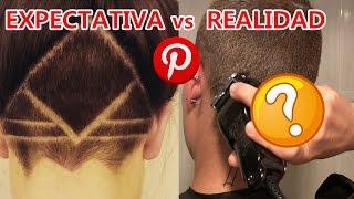 RETO : EXPECTATIVA vs REALIDAD |  HAIRCUT TATTOO PINTEREST